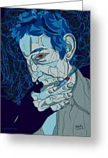 Serge Gainsbourg Greeting Card
