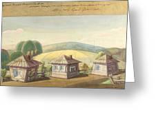 Sergei Sudeikin Russian 1882-1946 Stage Design Greeting Card