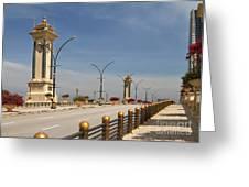 Seri Gemilang Bridge In Putrajaya Greeting Card