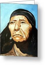 Seri Indian Portrait Greeting Card by Evelyne Boynton Grierson