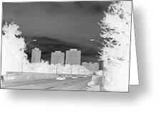 Series Of Black And White 48 Greeting Card