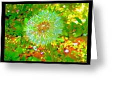 Series Of Spring Time Paintings Greeting Card