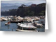 Serrento Harbour Greeting Card