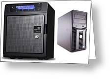 Server Rental Dubai,dedicated Servers For Rent In Dubai Greeting Card