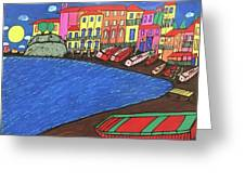 Sestri Levante Italy Greeting Card