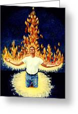 Set Aflame Greeting Card