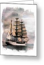 Set Sail Greeting Card by Aaron Berg