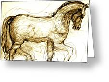 Set The Stallion Free Greeting Card
