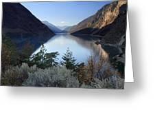Seton Lake  British Columbia Greeting Card