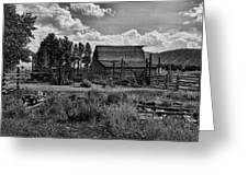 Settler's Barn Greeting Card