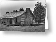 Settlers Cabin Tennessee Greeting Card