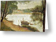 Seurat: Gray Weather Greeting Card by Granger