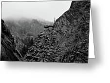 Seven Falls Pastoral Study 3 Greeting Card