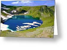 Seven Rila's Lakes Greeting Card