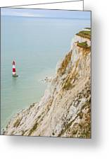 Seven Sisters Cliffs 16 Greeting Card