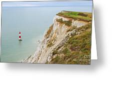Seven Sisters Cliffs 17 Greeting Card