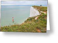 Seven Sisters Cliffs 19 Greeting Card