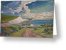 Seven Sisters Greeting Card