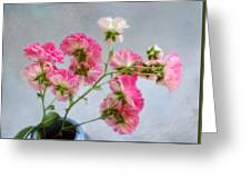 Seven Sisters Roses Greeting Card