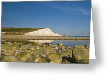 Seven Sisters Sussex Greeting Card