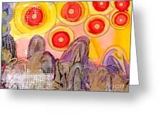 Seven Suns Greeting Card