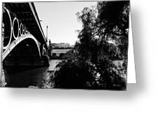 Seville - Triana Bridge Greeting Card