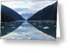 Sawyer Glacier  Greeting Card