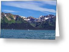 Seward Mountains Greeting Card
