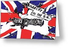 Sex Pistols No.02 Greeting Card by Caio Caldas