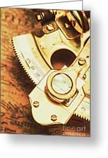 Sextant Sailing Navigation Tool Greeting Card