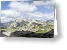 Sextener Dolomites Greeting Card