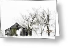Shabby Barn Greeting Card