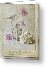Shabby Chic Azalea Fantasy Greeting Card