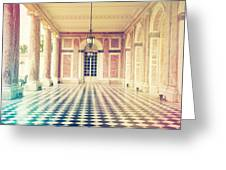 Shabby Chic Versailles Columns Of Grand Trianon Greeting Card