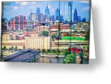 Shades Of Philadelphia Greeting Card