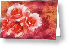 Shades Of Red Greeting Card