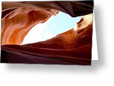 Shades Of Sandstone Greeting Card