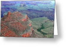 Shades Of The Canyon Greeting Card