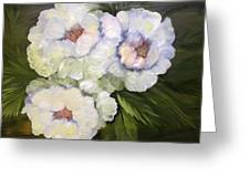 Shades Of White Greeting Card
