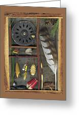 Shadow Box A Greeting Card