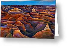 Shadow Canyon Greeting Card by Johnathan Harris