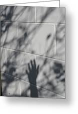 Shadow Hand Greeting Card