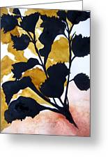 Shadow Hibiscus Greeting Card