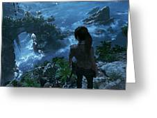 Shadow Of The Tomb Raider Greeting Card