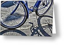 Shadow Quadracycle Greeting Card