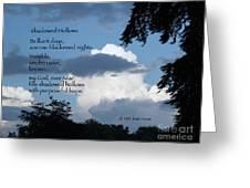 Shadowed Hollows Greeting Card
