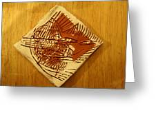 Shadows - Tile Greeting Card