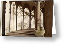 Shadows And Curves Greeting Card