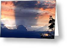 Shadows In The Sky Greeting Card