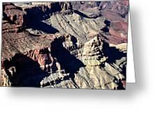 Shadows Of Grand Canyon Greeting Card